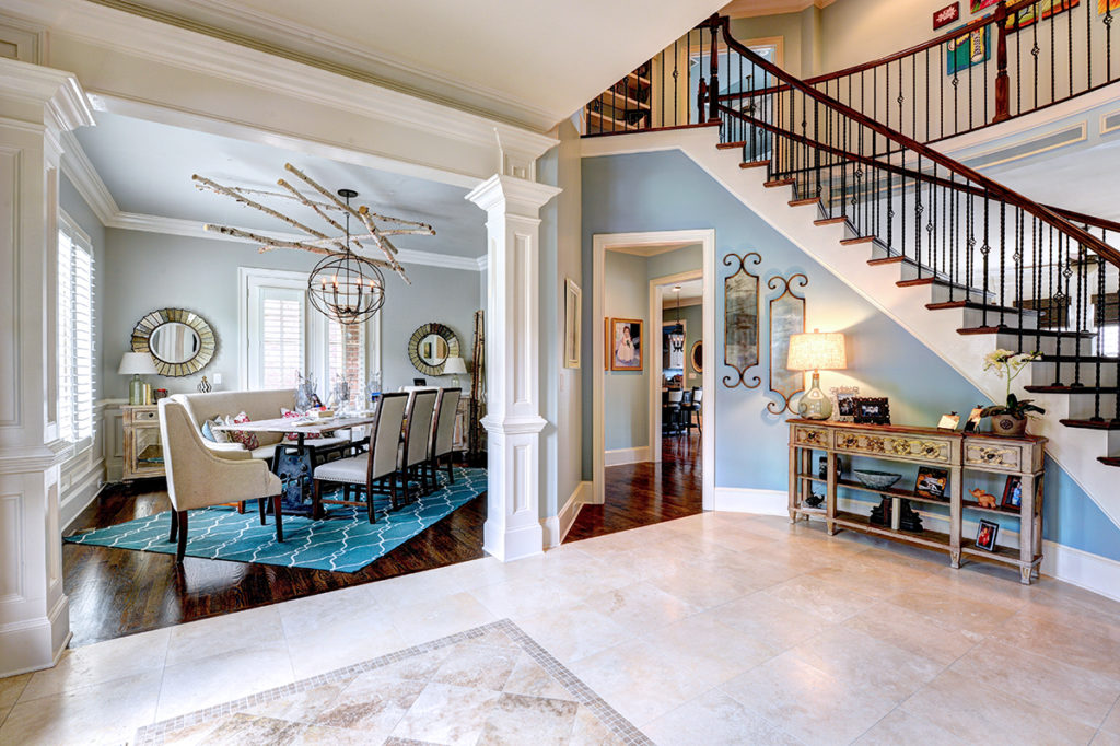 Georgetown Home Foyer