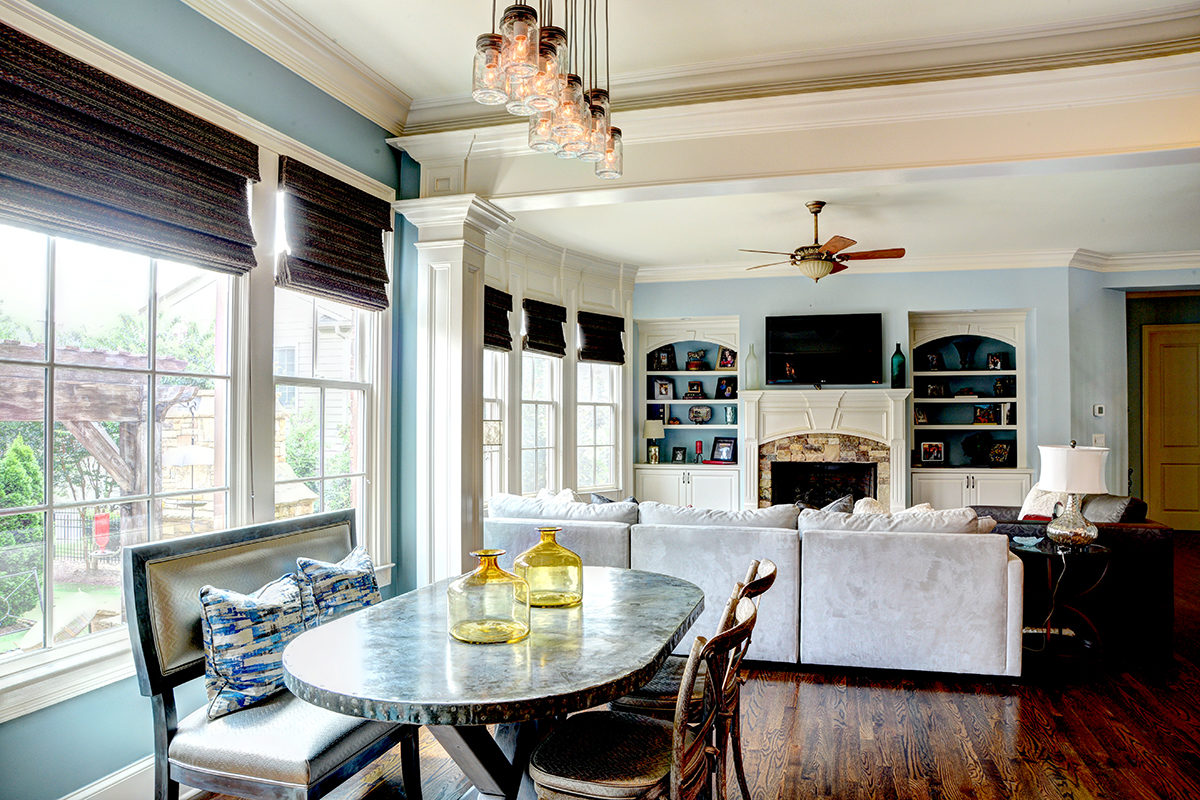Georgetown Home Breakfast Nook
