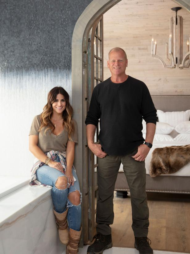 Alison Victoria and Mike Holmes