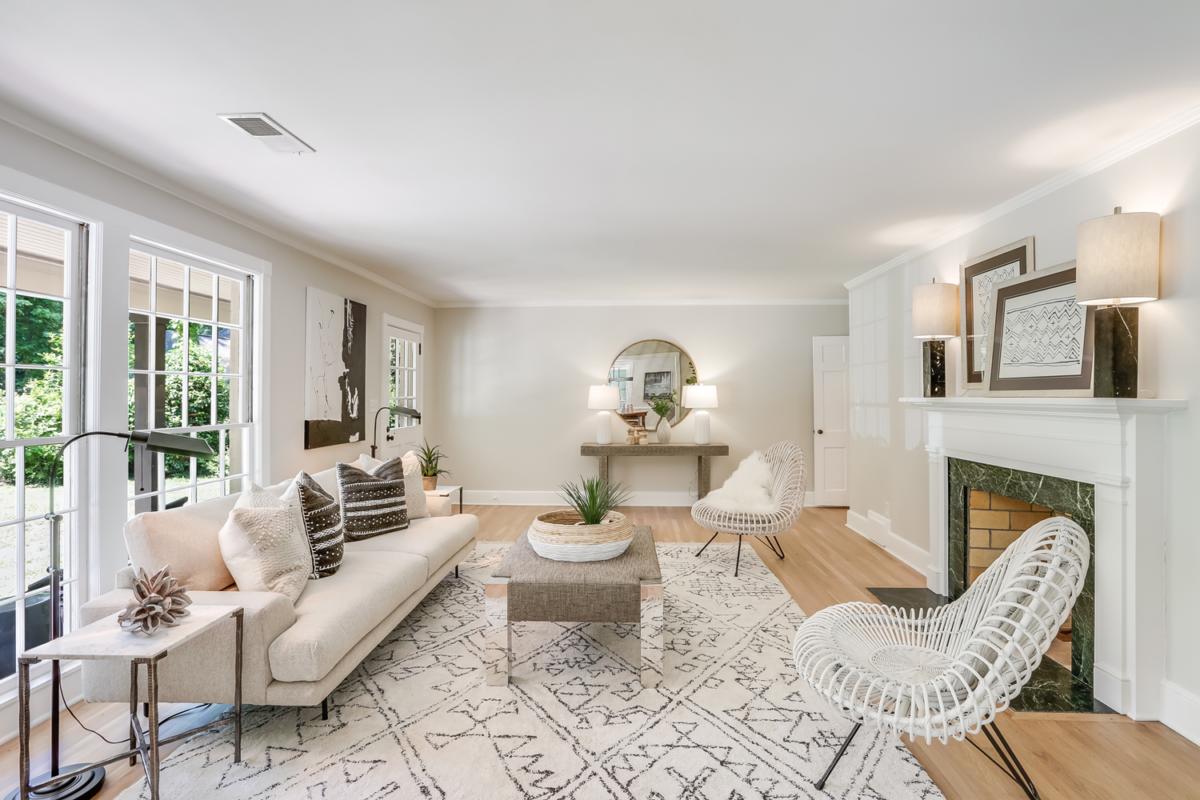 Whitlock House Living Room